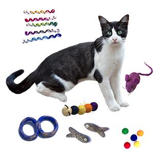 felt-wool-cat-toys