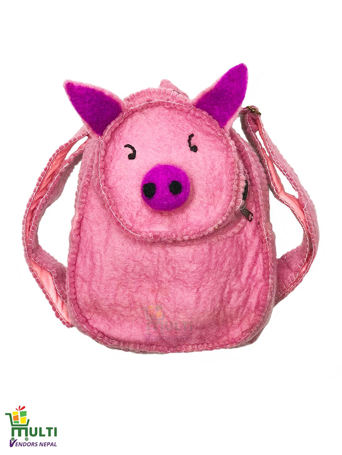 Pig  Kids Bag-MVSHB-014-HP