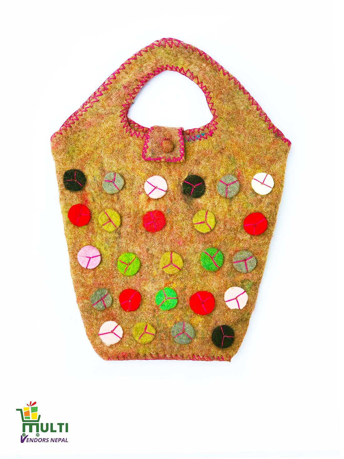 Handy Decorated Kids Bag -M.V.K.S-185-C