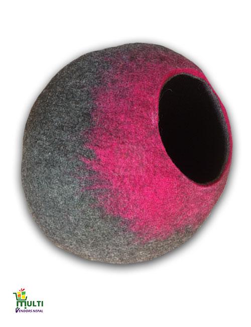 Pink Grey Splash M.V-K-C.C-115