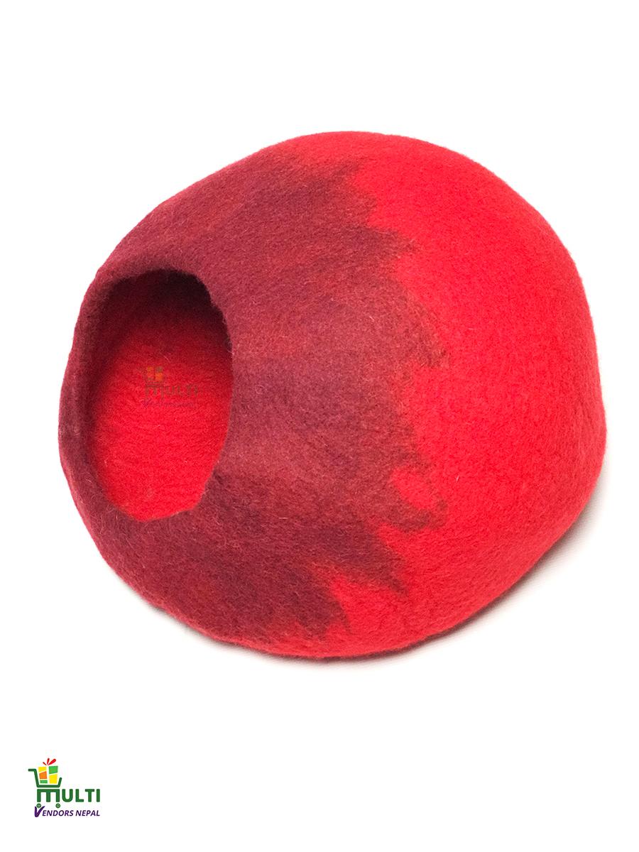 Warm Red Cat Cave -SEB-220