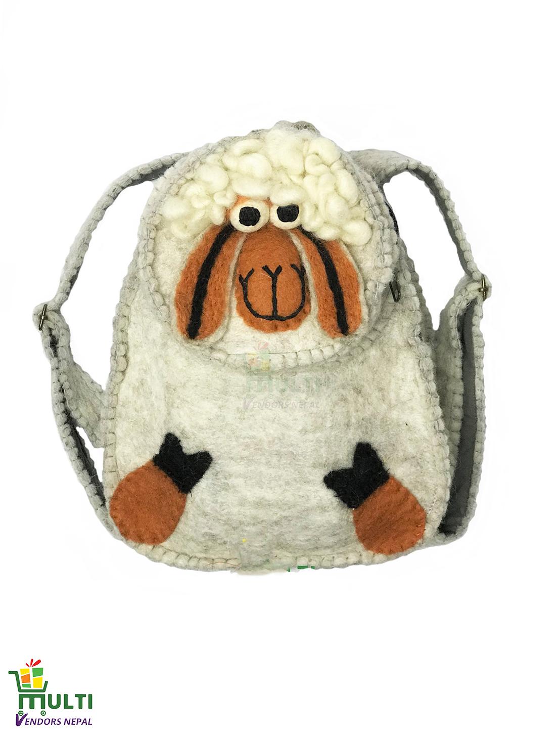 Sheep Kids Bag-MVSHB-016-HP