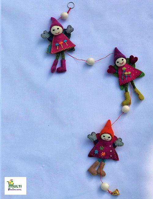 Doll Hanging Set-M.V.K.S-127-S
