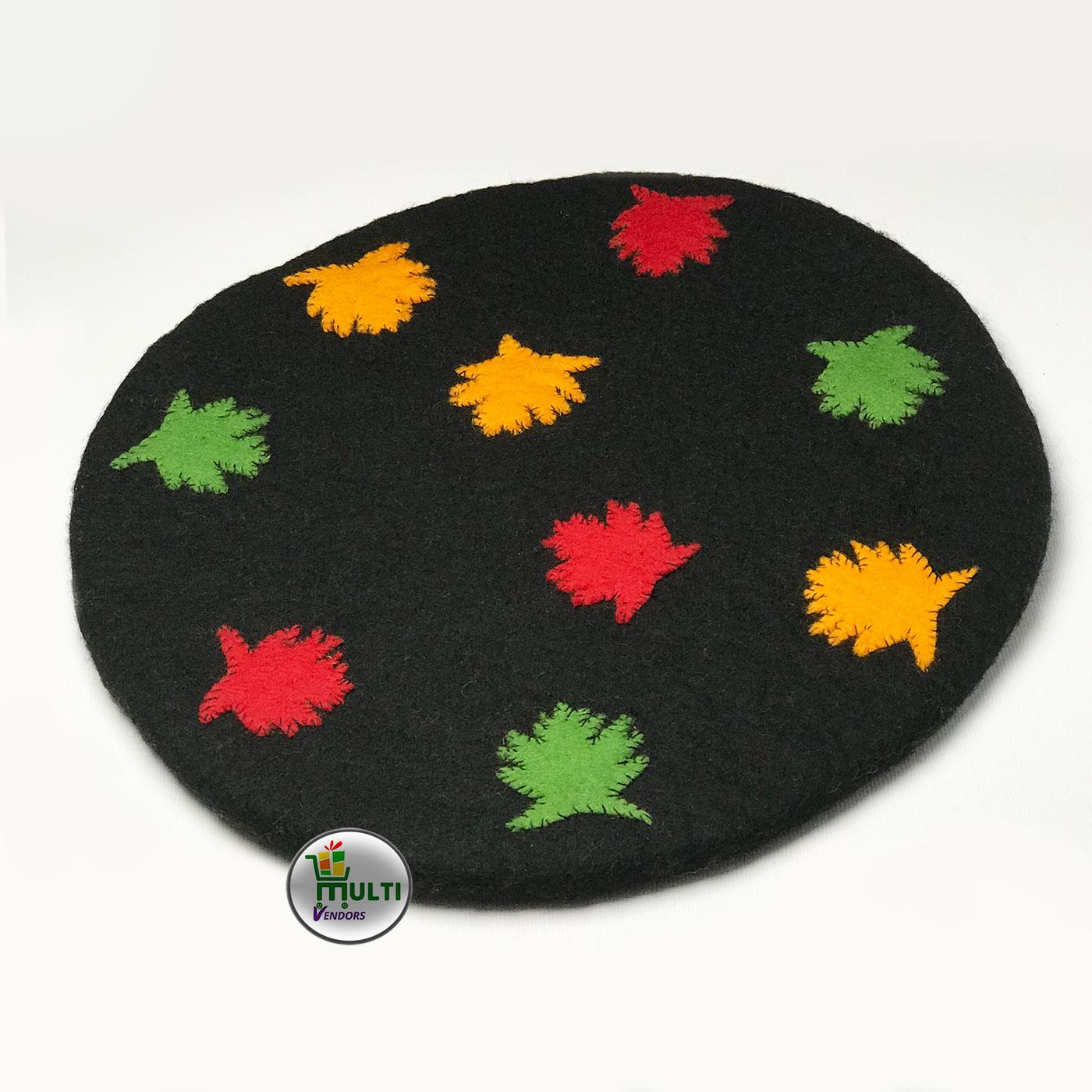 Maple Leaves Design Carpet-215111
