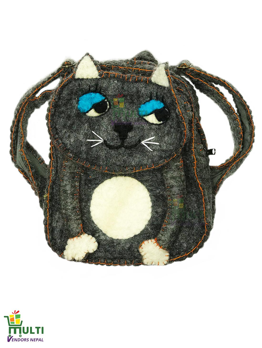 Cat  Kids Bag-MVSHB-010