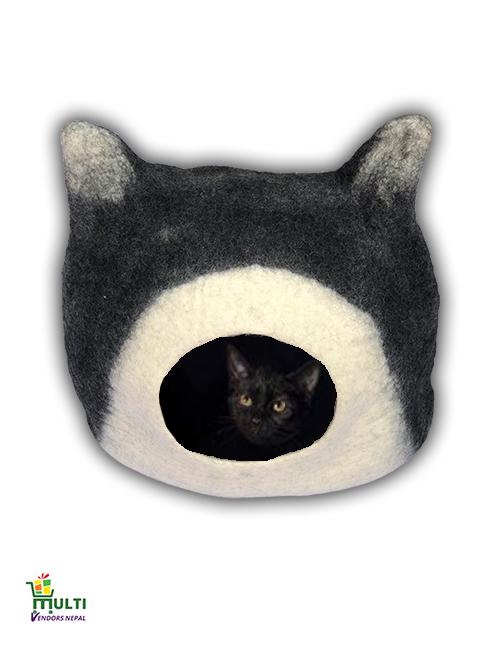 Black Cat Face Design M.V.-087