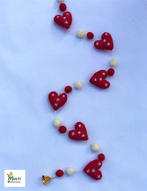 Heart Shape Hanging-M.V.K.S-125-S